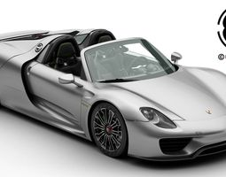 porsche 918 3d models download 3d porsche 918 files. Black Bedroom Furniture Sets. Home Design Ideas