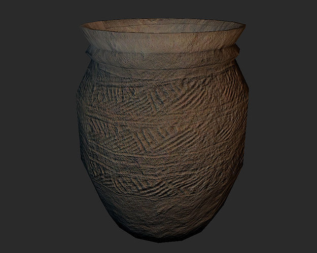 3d Asset Set Of 5 Antique Chinese Vases Cgtrader
