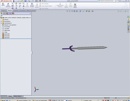3D print model master sword