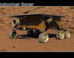 3D Sojourner Rover