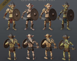 Heroes - Goblin Warrior 3D model