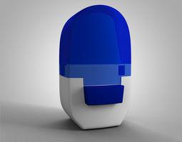 alenia asthma inhaler 3d model