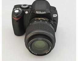Nikon D40X 3D Model
