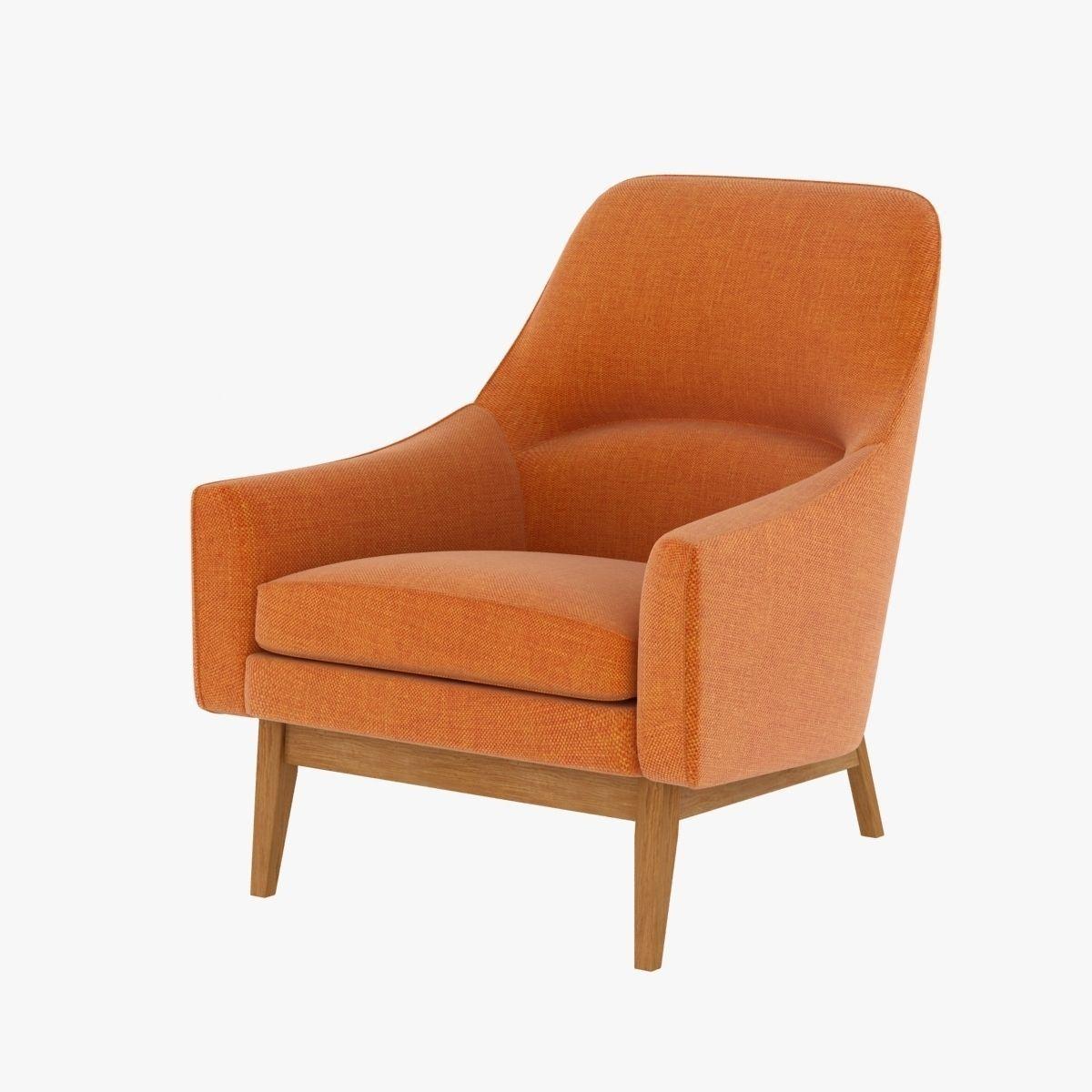 Ralph pucci jens risom chair 3d model max obj 3ds fbx for Model furniture