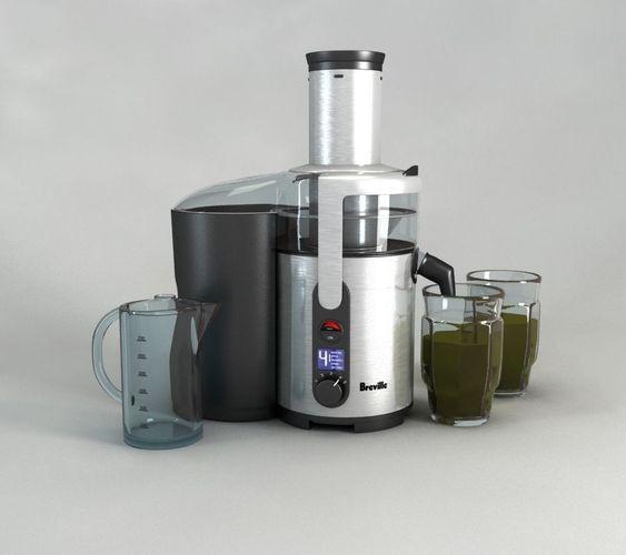 Breville BJE510XL Juice Fountain Multi-Spe...3D model