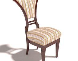 Antique Chair 2 3D Model