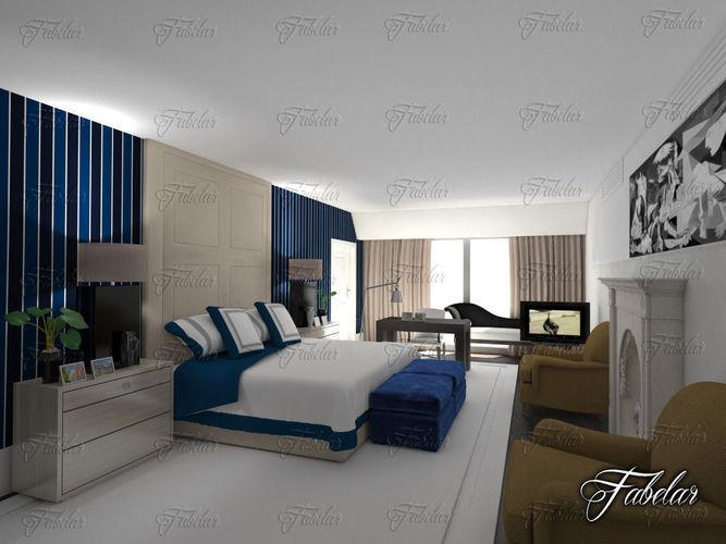 Bedroom 093D model