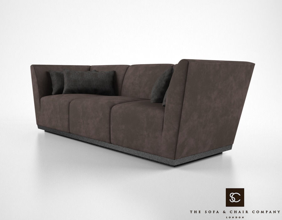 Bon ... The Sofa And Chair Company Taylor Sofa 3d Model Max Obj Mtl Fbx 2 ...