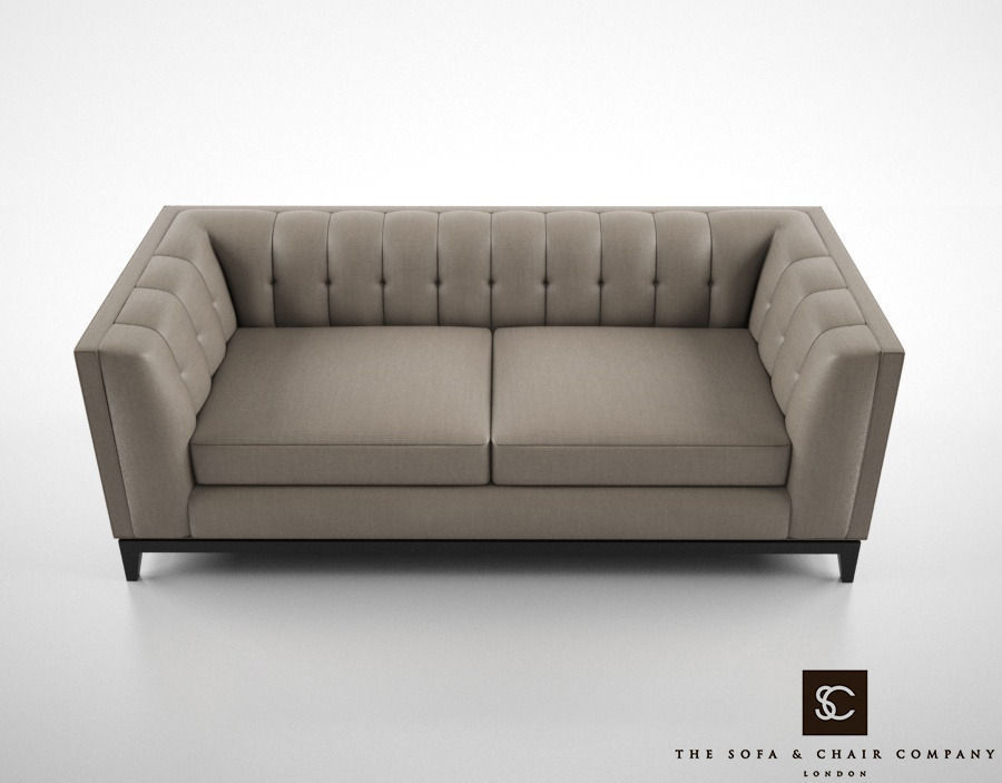 The Sofa And Chair Company Alexander Sofa 3D Model MAX OBJ