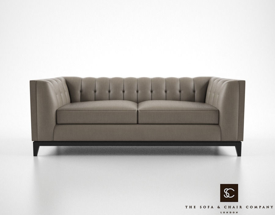 The Sofa And Chair Company Alexander Sofa 3D Model Max