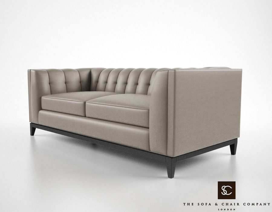The sofa and chair company alexander sofa 3d model max for Sofa company