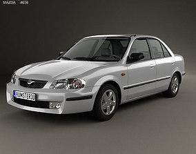 3D model Mazda 323 1998