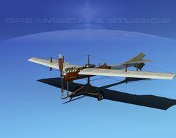 Antoinette Monoplane V01 3D Model