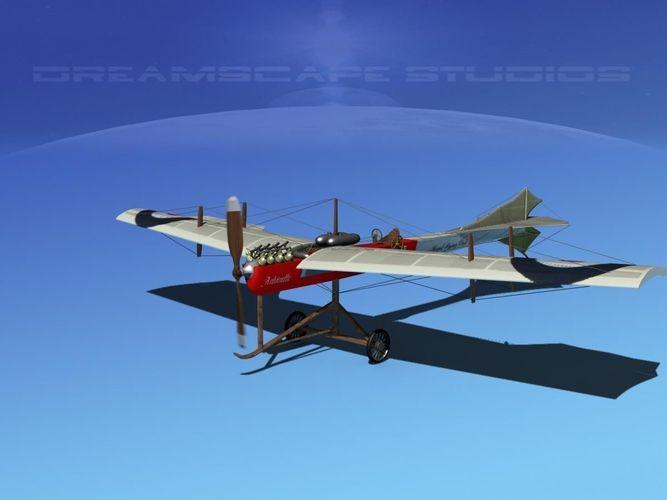 Antoinette Monoplane V023D model