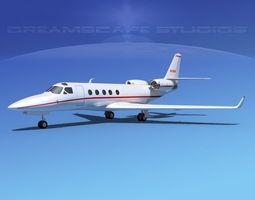 IAI Astra Jet V01 3D Model