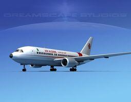 Boeing 767-100 Air Algerie 3D Model