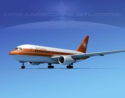 Boeing 767-100 Air Canada 1 3D Model