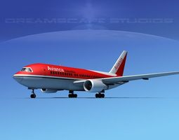 Boeing 767-100 Avianca 3D Model