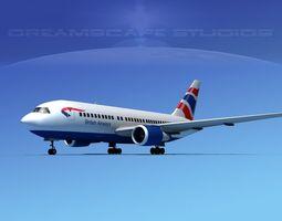 Boeing 767-100 British Airways 1 3D