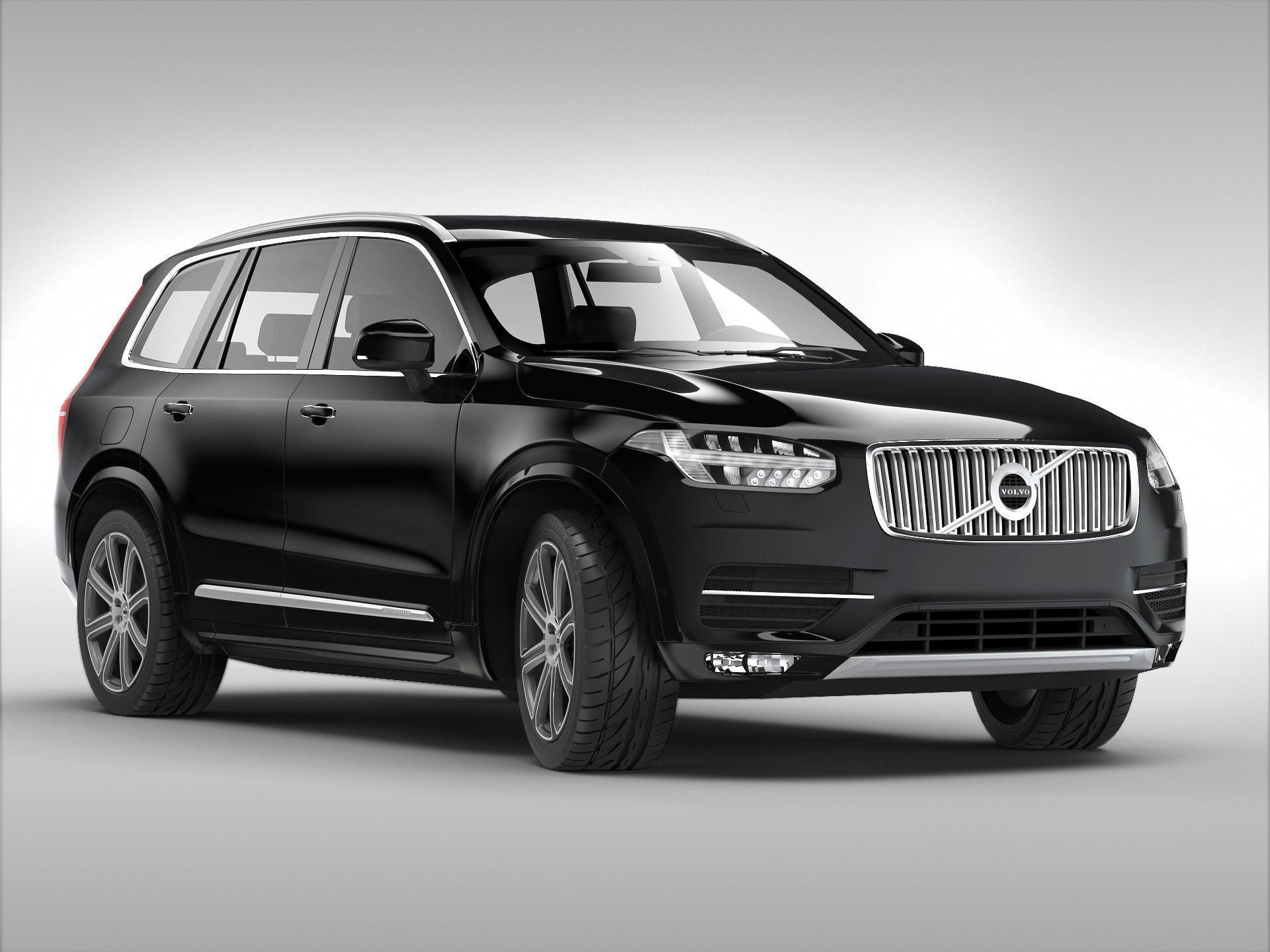 volvo xc90 2015 3d model max obj 3ds fbx. Black Bedroom Furniture Sets. Home Design Ideas