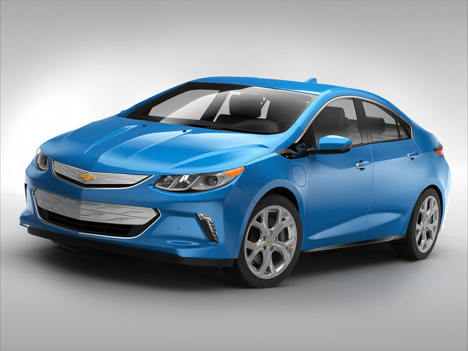 Chevrolet Volt 20163D model