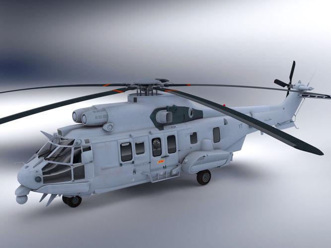 Super Puma Helicopter3D model