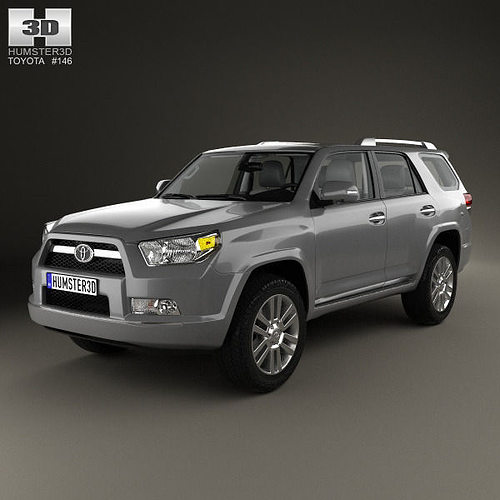 toyota 4runner with hq interior 2011 3d cgtrader. Black Bedroom Furniture Sets. Home Design Ideas