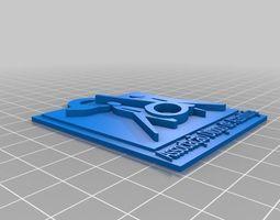 porta chaves ada 3d printable model