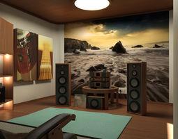 Mr Audio Room 3D Model