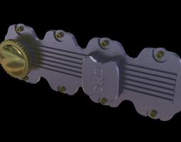 valve Cover 3D Model