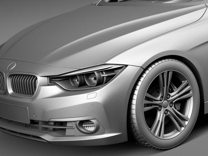 Bmw F30 Gadgets >> BMW 3-Series F30 Sedan 2016 3D Model .max .obj .3ds .fbx .c4d .lwo .lw .lws - CGTrader.com