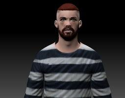 Man 3 3D Model