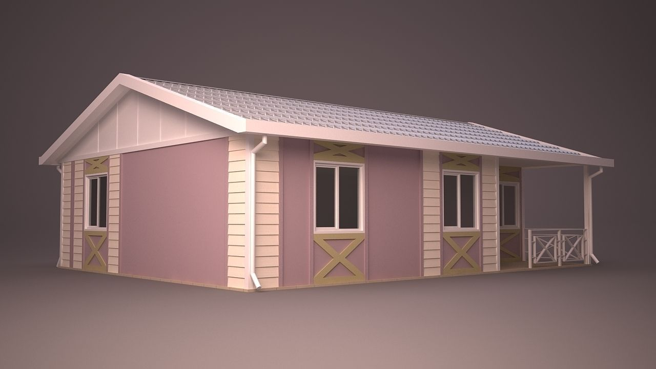 Home 38 3d model max obj 3ds fbx ma mb dwg for Home 3d model