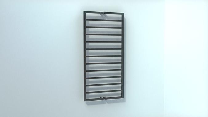 Bathroom Radiators 3d model bathroom radiators heating blocks collection vr / ar