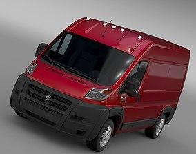 Ram Promaster Cargo 1500 HR 136WB 2015 3D