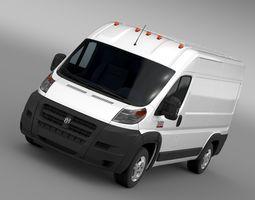 ram promaster cargo 2500 hr 136wb 2015 3d