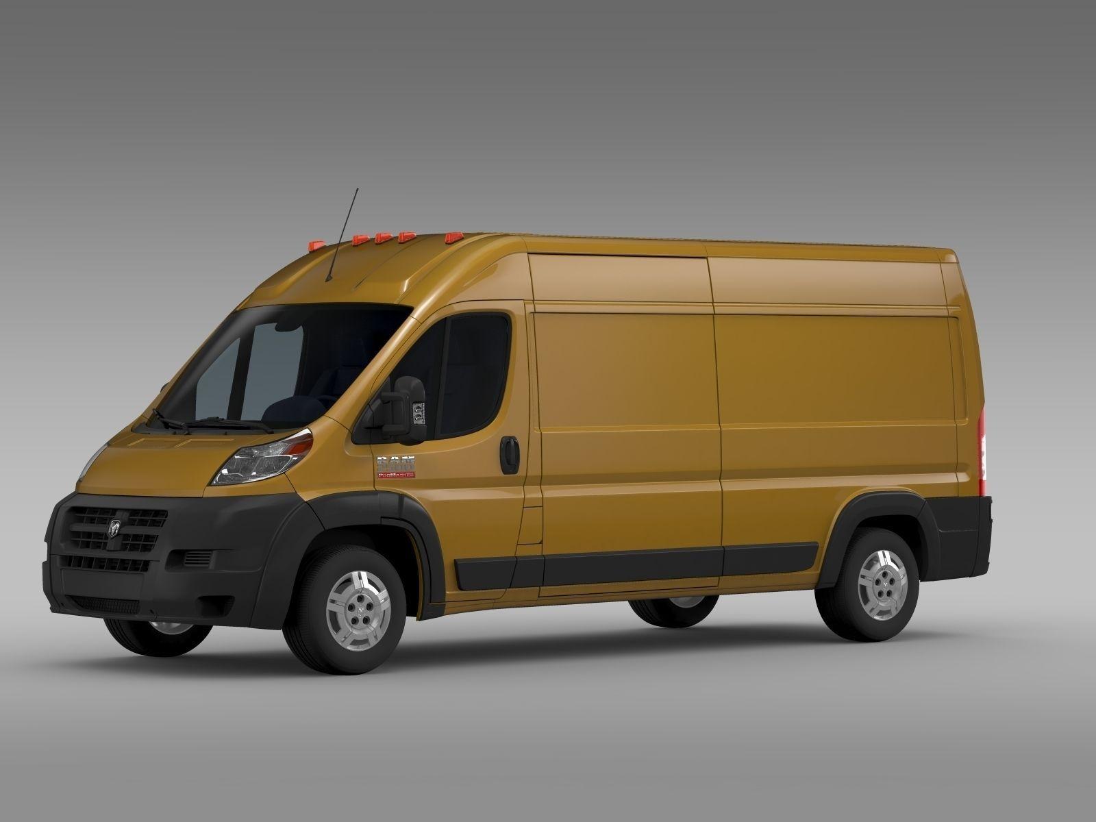 ram promaster cargo 2500 hr 159wb 2015 3d model max obj 3ds fbx c4d lwo lw lws. Black Bedroom Furniture Sets. Home Design Ideas