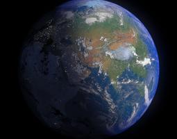 Earth 16K 3D