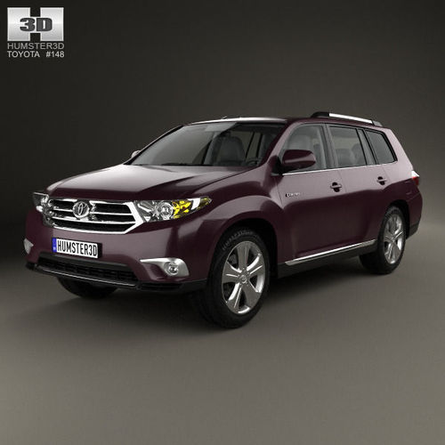 Toyota Highlander with HQ interior 20113D model