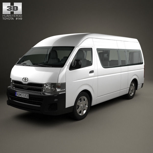 Toyota HiAce Super Long Wheel Base with HQ interior 2012