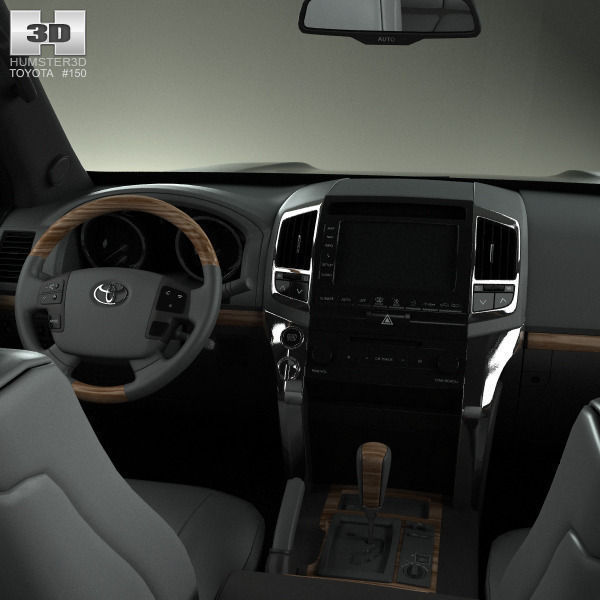 toyota land cruiser j200 with hq interior 2013 3d model max obj 3ds fbx c4d lwo lw lws. Black Bedroom Furniture Sets. Home Design Ideas