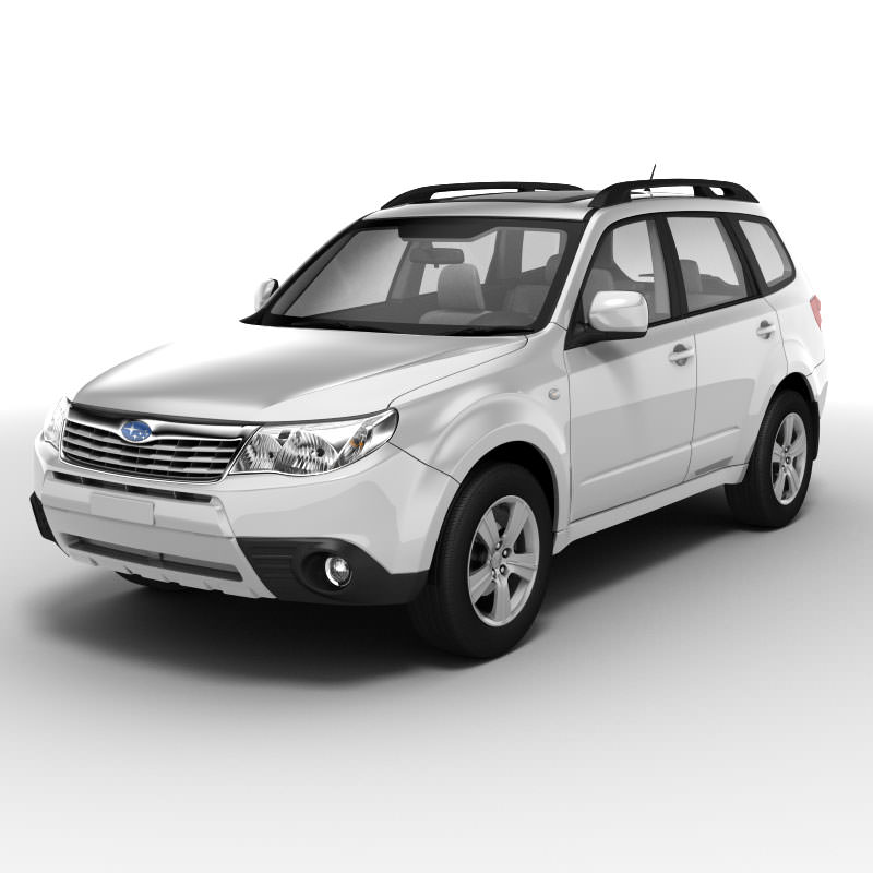 Subaru Forester 2010 Model Max Obj Mtl S Lwo Lw Lws Ma Mb 2