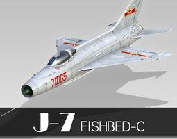 Chengdu J-7 3D