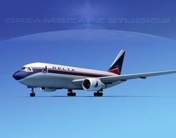 Boeing 767-100 Delta 1 3D Model