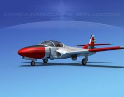Cessna T-37 Tweetybird Republic of China 3D Model