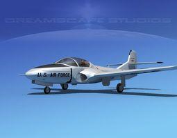 Cessna T-37 Tweetybird V01 USAF 3D Model
