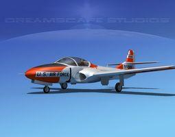 Cessna T-37 Tweetybird V03 USAF 3D Model
