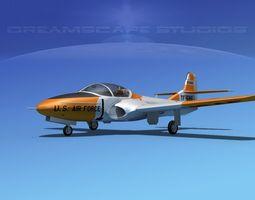 Cessna T-37 Tweetybird V04 USAF 3D Model