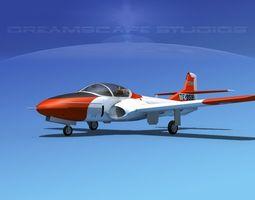 Cessna T-37 Tweetybird V06 Greece 3D Model