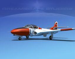 Cessna T-37 Tweetybird V07 Greece 3D Model